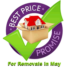 Great savings for full or part load removals In May 2018
