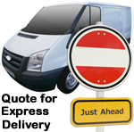 Online Quote for express Removals for removals to Austria