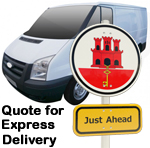 Online Quote for express Removals for removals to Gibralta