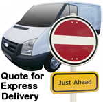 Online Quote for express Removals for removals to Latvia