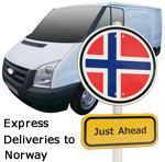 Express deliveries to Norway