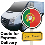 Online Quote for express Removals for removals to Portugal