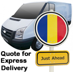Online Quote for express Removals for removals to Romania