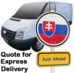 Online Quote for express Removals for removals to Slovenia