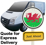 Online Quote for express Removals for removals to Wales