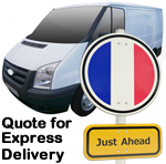 Free Online Quote with Hunts International for Express Removals to France