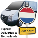 Express deliveries to The Netherlands