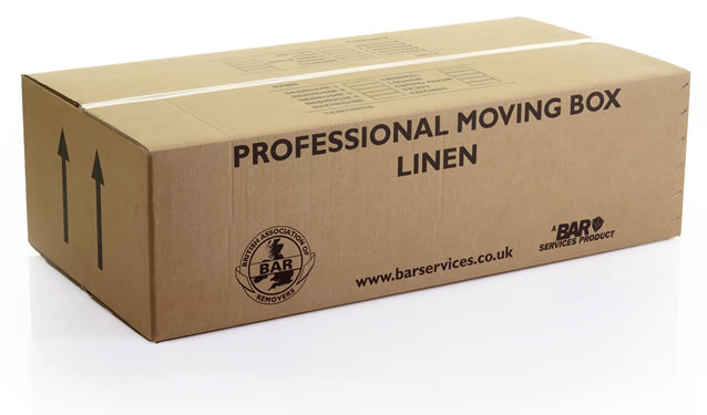 Linen moving boxes
